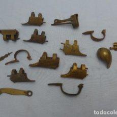 Militaria: * ANTIGUO GRAN LOTE DE PIEZAS PARA RESTAURAR ARMA DE AVANCARGA, ORIGINALES. VARIEDAD. ZX. Lote 188840571