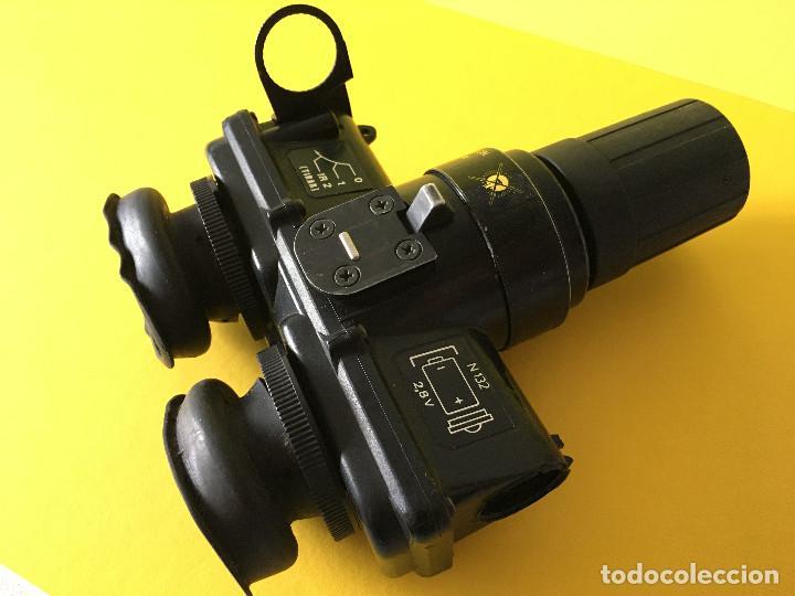 VISOR / GAFAS DE VISION NOCTURNA GVN-201 EJERCITO ESPAÑOL INUTILIZADAS , LEER DESCRIPCION (Militar - Otros Artículos Relacionados con Armas)