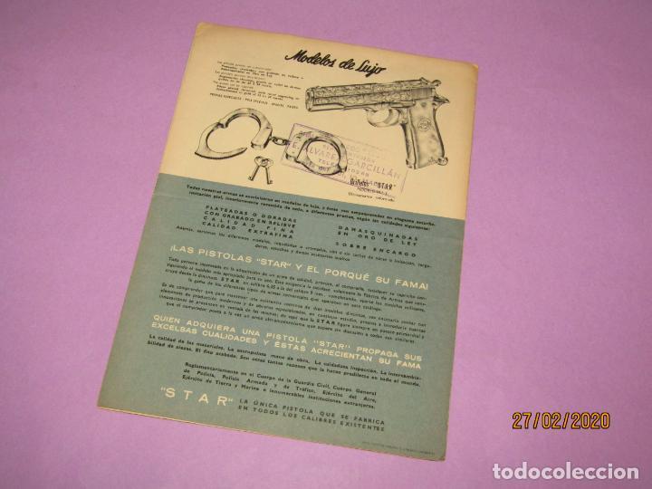Militaria: Antiguo Catálogo Desplegable de Pistolas STAR de Bonifacio Echevarria S.A. de Eibar - Año 1952 - Foto 3 - 195498285