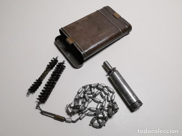 Militaria: Kit Estuche de limpieza alemán Mauser K98--------REF-CV - Foto 2 - 197327887