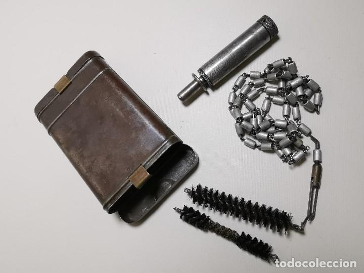 Militaria: Kit Estuche de limpieza alemán Mauser K98--------REF-CV - Foto 3 - 197327887