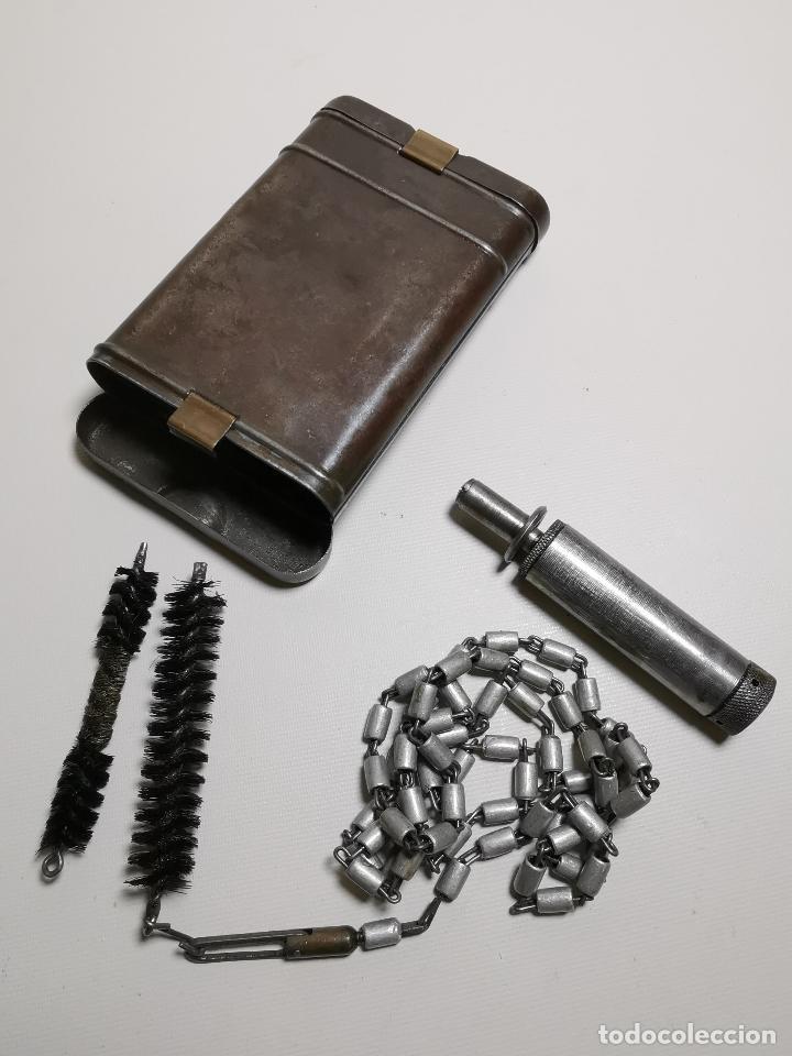 KIT ESTUCHE DE LIMPIEZA ALEMÁN MAUSER K98--------REF-CV (Militar - Otros Artículos Relacionados con Armas)