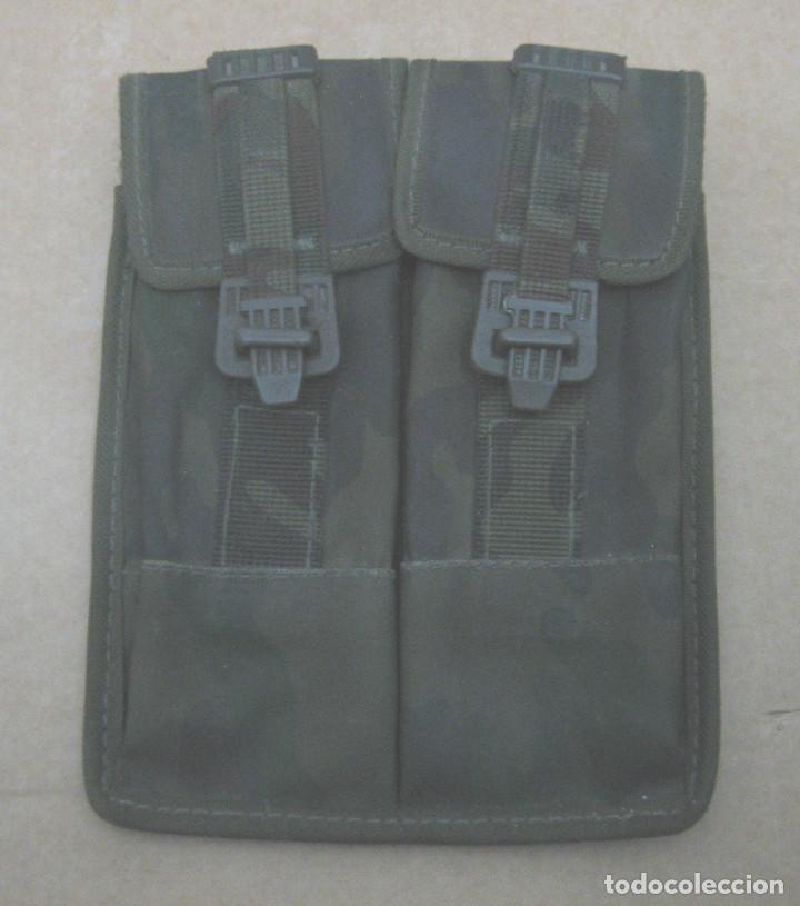 Militaria: 2 fundas cargadores dobles de cetme - Foto 2 - 198390461