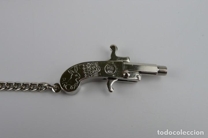 Militaria: Berloque Pistole - Mini pistola- En caja original-Made in Austria - Foto 7 - 208881928