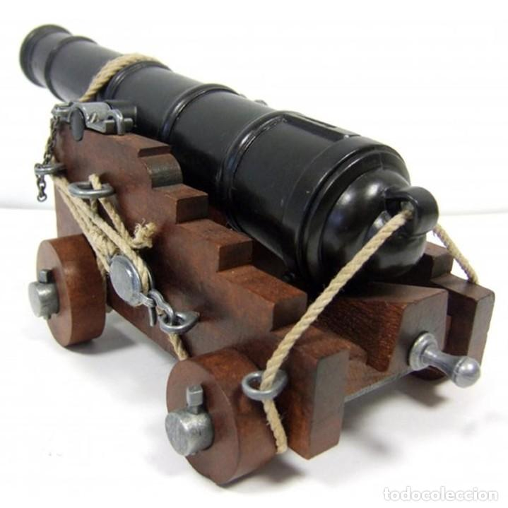 Militaria: Cañón de la marina inglesa, siglo Siglo XVIII - 28.CM Peso: 1.050 g Época: Colonial y Pirata 1492-S - Foto 3 - 213774625