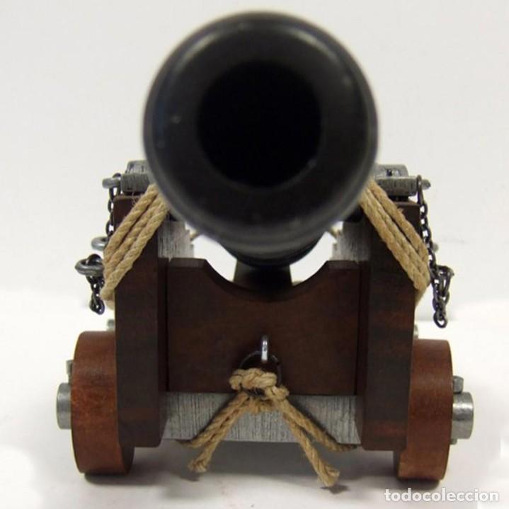 Militaria: Cañón de la marina inglesa, siglo Siglo XVIII - 28.CM Peso: 1.050 g Época: Colonial y Pirata 1492-S - Foto 4 - 213774625