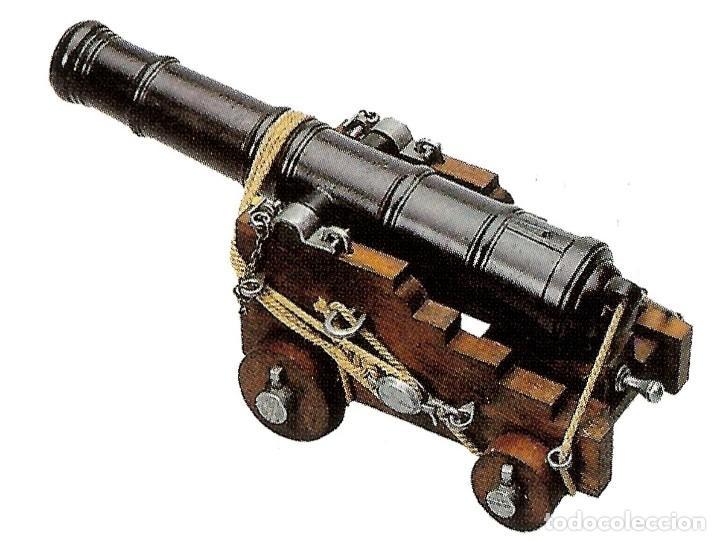 CAÑÓN DE LA MARINA INGLESA, SIGLO SIGLO XVIII - 28.CM PESO: 1.050 G ÉPOCA: COLONIAL Y PIRATA 1492-S (Militar - Otros Artículos Relacionados con Armas)