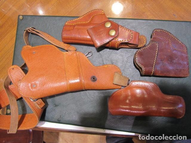 Militaria: lote fundas de pistola - Foto 2 - 222581852