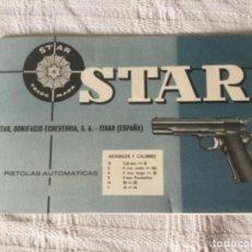 Militaria: PISTOLA STAR. MANUAL DE INSTRUCCIONES ORIGINAL QUE VIENE EN LA CAJA DE LA PISTOLA. Lote 227547950