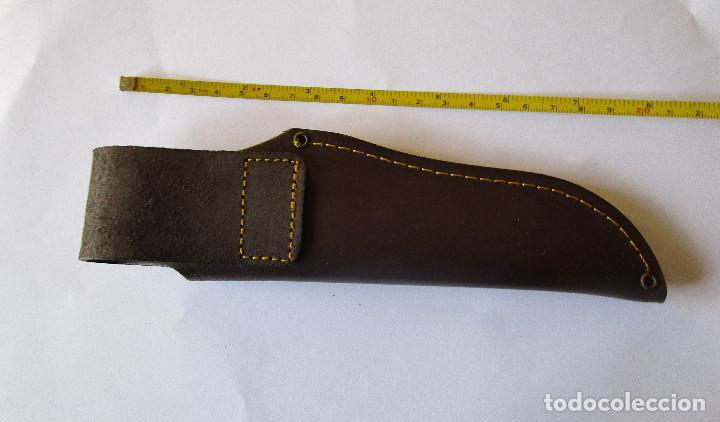 Militaria: Funda cuchillo piel - Foto 2 - 242138845