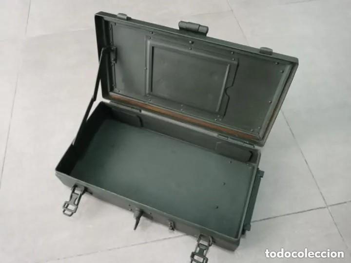 Militaria: Caja de herramientas para cañon aleman de 3.7 cm - Foto 2 - 249344165
