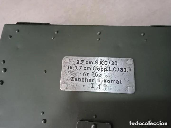 Militaria: Caja de herramientas para cañon aleman de 3.7 cm - Foto 3 - 249344165