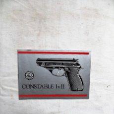 Militaria: MANUAL DE PISTOLA ASTRA CONSTABLE I Y II. Lote 260708350