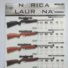 Militaria: CATALAGO NORICA LAURONA/ ARMAS DE CAZA.. Lote 261560265