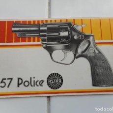 Militaria: ANTIGUO MANUAL INSTRUCCIONES.REVOLVES ASTRA 357 POLICE.UNCETA Y CIA S.A GUERNICA.. Lote 263082870