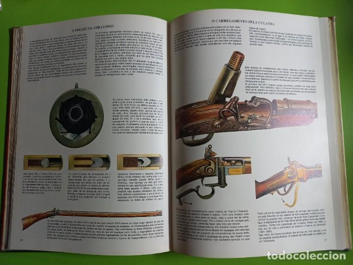 Militaria: HISTORIA UNIVERSAL DAS ARMAS EM MIL IMAGENS -PORTUGUES -VICENTE SEGRELLES -PORTO JANEIRO 1979 - Foto 6 - 278231203