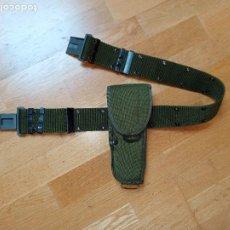 Militaria: FUNDA DE PISTOLA M12 Y CINTURÓN US ARMY. Lote 289574418