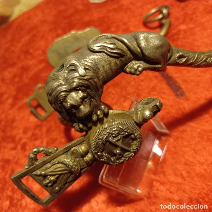 Militaria: Bocado de caballo de general época Isabel 2 - Foto 3 - 290133293