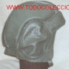Militaria: CASCO DE CUERO DE TANQUISTA.1986.. Lote 36662794
