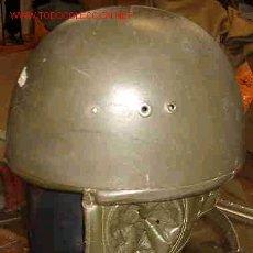 Militaria: CASCO MODELO PARACAIDISTA, RDA. Lote 16541362