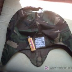 Militaria: FUNDA DE CASCO ALEMAN U HOLANDESA. Lote 27273310