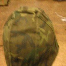 Militaria: CASCO Z GRIS, INTERIOR PRIMER MODELO, FUNDA CASCO PARACAIDISTA.. Lote 22238175