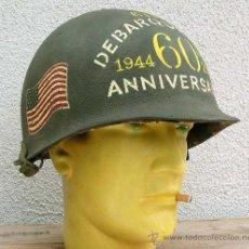 Militaria: CASCO M1 CONMEMORATIVO 60 ANIVERSARIO DESEMBARCO.. Lote 224418170