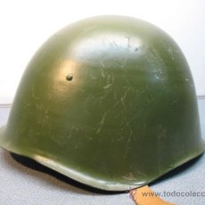 Militaria: ANTIGUO CASCO MILITAR CASCO POLACO MODELO WZ1950. Lote 15463510