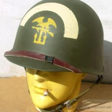 Militaria: CASCO M1 5TH ENGINEER SPECIAL BRIGADE. Lote 48652422