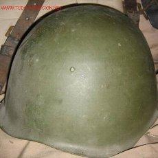 Militaria: CASCO POLACO 1950. Lote 24844481
