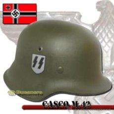 Militaria: CASCO ALEMÁN SEGUNDA GUERRA MUNDIAL. Lote 26769672