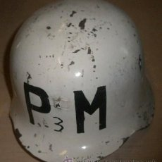 Militaria: CASCO PM INTERIOR 2º MODELO. Lote 26569191