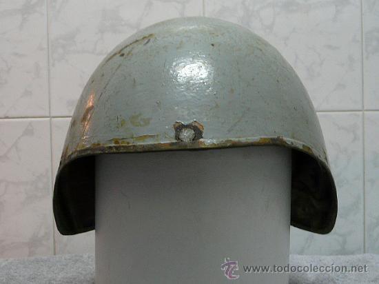 CASCO ESPAÑOL NAVAL DE ARTILLERO TALKER (Militar - Cascos Militares )