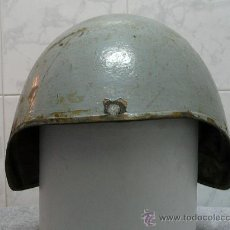 Militaria: CASCO ESPAÑOL NAVAL DE ARTILLERO TALKER. Lote 27358393