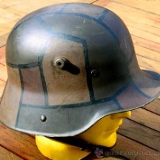 Militaria: CASCO ALEMÁN M16 CAMUFLAJE TRINCHERA. Lote 168553306