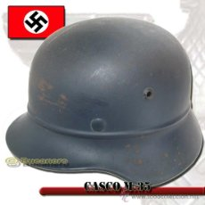 Militaria: CASCO ALEMÁN SEGUNDA GUERRA MUNDIAL. Lote 27285578