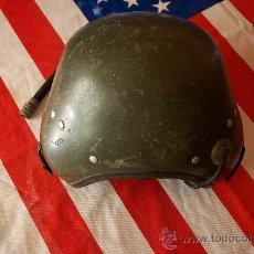 Militaria: CASCO DE TANQUISTA CARRISTA INGLES 1973??. Lote 26782668