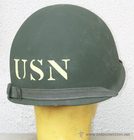 Militaria: Casco M1 US NAVY Beach Master - Foto 5 - 104719003