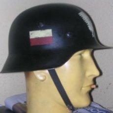 Militaria: CASCO ALEMÁN M42 RESISTENCIA POLACA. Lote 243334635