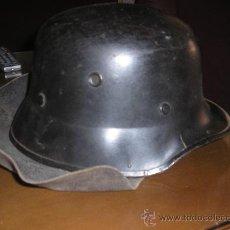 Militaria: CASCO CON CUBRENUCA ALEMÁN.. Lote 27141119