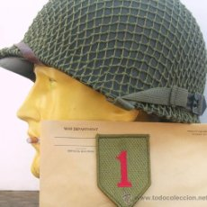 Militaria: CASCO M1 -BIG RED ONE-. Lote 182372437