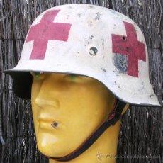 Militaria: CASCO ALEMÁN M42 WH SANITARIO. Lote 26406062