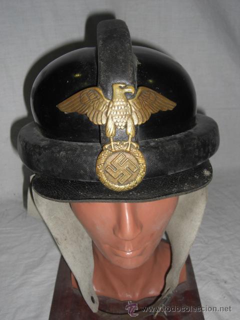 Militaria: Alemania. Casco de la N.S.K.K. II Guerra Mundial. - Foto 2 - 26321865