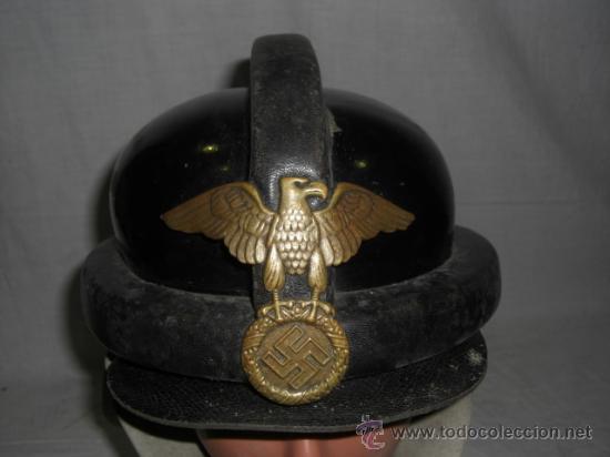 Militaria: Alemania. Casco de la N.S.K.K. II Guerra Mundial. - Foto 3 - 26321865