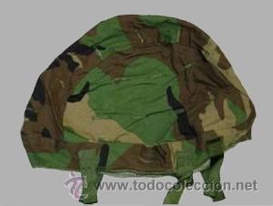 FUNDA CAMO PARA CASCO PASGT, AUTENTICA. (Militar - Cascos Militares )