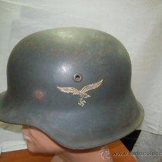 Militaria: II GUERRA MUNDIAL. CASCO ALEMÁN DE LA LUFTWAFFE.. Lote 27101898