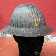 Militaria: CASCO VIRIATO, GUERRA CIVIL ESPAÑOLA, VOLUNTARIOS PORTUGUESES. Lote 28560472