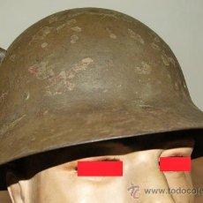 Militaria: CASCO CHECO MODELO 1930, EJERCITO POPULAR REPUBLICANO PERIODO DE LA GUERRA CIVIL ESPAÑOLA, 1936/1939. Lote 28762625