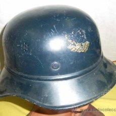Militaria: ALEMANIA. II GUERRA MUNDIAL. CASCO LUFTSCHUTSGESETZ. ORIGINAL. . Lote 29126280