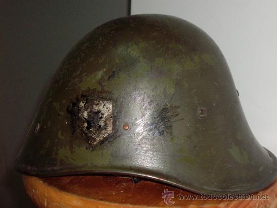 Militaria: CASCO HOLANDES M-34 2ª GUERRA MUNDIAL - Foto 2 - 29203097